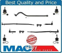 00-02 Ram 2500 3500 4500LB Axle 4x4 Tie Rods Drag Links Ball Joints Steering Kit