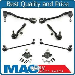 01-2005 BMW X5 Control Arms Ball Joints Tie Rods Suspension and Steering Kit 8pc