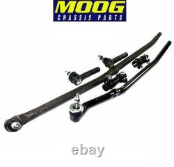 03-08 Dodge Ram Pick Up 2500 3500 4x4 Drag Link Tie Rod Rods Steering Kit Moog