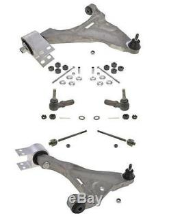 06-11 Lucerne DTS 8Pc Chassis Kit Control Arm WithBushing Ball joint Tie Rods Sway