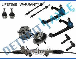 11pc Power Steering Rack and Pinion Suspension Kit for Dodge 4x4 with ABS 5-Lug