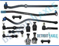 13pc Front Suspension Tie Rod Track Bar 94-96 Dodge Ram 2500 3500 Dana 60 4x4