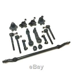 15 Pc Steering Kit for Chevrolet GMC Center Link Ball Joint, Idler & Pitman Arm