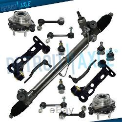 15pc Complete Power Steering Rack and Pinion Kit for 2004-2007 Rainier Envoy