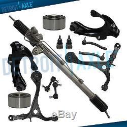 2003 2004 2005 2007 Honda Accord 4Cyl Rack and Pinion Control Arm Suspension Kit