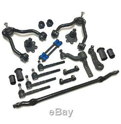 21 Pc Suspension & Steering Kit for Chevrolet, GMC, Control Arms with Ball Joint