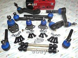 2WD Fits 00-01 Ram1500 12PCS Suspension & Steering KIt K7345 K7347 K7365 K7275