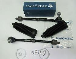 2x Lemförder Spurstange mit Lenkmanschette BMW 7er E65 und E66 Satz vorne