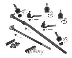 4x4 Ford F-250 HD Pickup Steering Tie Rods Center Link Drag Bar Ball Joints Ends