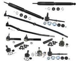 4x4 Front End Kit For Dodge Ram 1500 SLT Center Link Tie Rods Ball Joints Shock