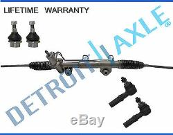 5pc Comp. Power Steering Rack and Pinion Suspension Kit for Dodge Ram 1500 4x4