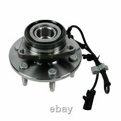 6 Piece Steering & Suspension Kit Upper Lower Ball Joints with Wheel Bearings New