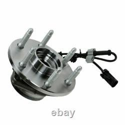 6 Piece Steering & Suspension Kit Wheel Hub & Bearing Assemblies Control Arms