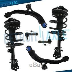 6pc Front Struts withSpring Lower Control Arm & Ball Joint Tierod End for Chrysler