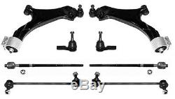 8 Part Suspension Arm Kit Set Wishbone Front Ball Joint Captiva Chevrolet