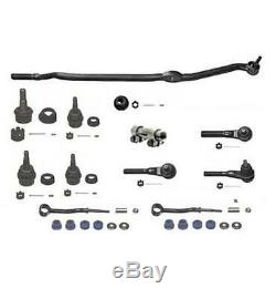93-01 Jeep Cherokee Drag Link Tie Rod Ball Joints Kit Steering and Suspension