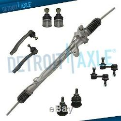 9pc Complete Power Steering Rack and Pinion Suspension Kit for 97-01 Honda CR-V