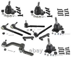 AWD Chevrolet Astro 4.3L LS LT Inner Outer Tie Rods Ball Joints Idler Arm Ends