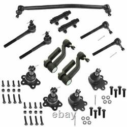 Ball Joint Tie Rod Adjuster Idler Arm Steering Suspension Kit Set 13pc for Astro