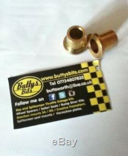 Classic Beetle 2.5 inch Drum Brake Balljoint Drop Spindles 66-77 Bump Steer Kit