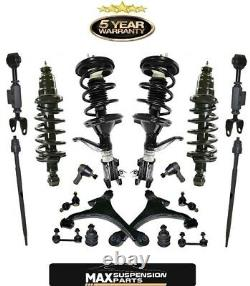 Complete Strut Assembly + Control Arm Suspension Steering Kit for 03-11 Element