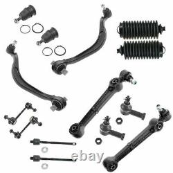Control Arm Ball Joint Tie Rod Boot Sway Bar Link Steering Suspension Kit 14pc