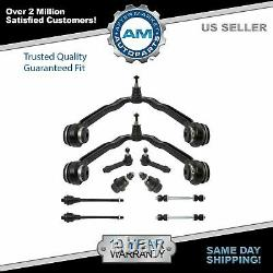 Control Arm Ball Joint Tie Rod Sway Link Front Suspension Kit Set 10pc