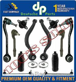 Control Arms Steering Tie Rods Boot Ball Joints for BMW E53 X5 SUSPENSION KIT