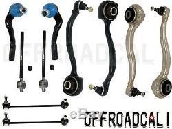FITS MB C CLK C230 Suspension Kit Control Arm Tie Rod Sway Bar End Link 10pcs
