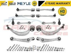FOR Audi A6 C7 A7 FRONT UPPER LOWER SUSPENSION CONTROL ARM LINK MEYLE HD ARMS