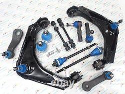 FOR H2 Silverado HD 12PCS Front Suspension Steering Kit K620054 K6693 ES3609