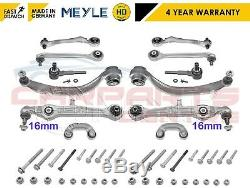 FOR VW PASSAT FRONT SUSPENSION UPPER LOWER REAR ARMS LINKS MEYLE HD 16mm 01-05