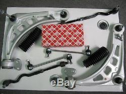 Febi Suspension Arm Repair Kit 8 PC BMW 3er E46 and Z4 Front Axle