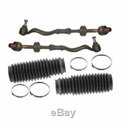 For BMW e36 z-3 FULL Tie Rod Assy +Boots 4 pcs OEM Steering Rack Ball Joint