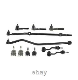 Front Ball Joint Tie Rod Drag Link Track Bar Sway Bar for Jeep Grand Cherokee