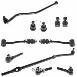 Front Ball Joint Track Sway Bar Tie Rod Suspension Kit for Jeep Cherokee 4WD 4x4