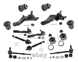 Front End Kit Toyota Tundra SR5 4.7L Ball Joints Tie Rods Sway Bar Lower Bushing