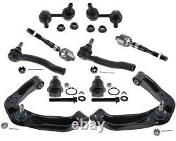 Front End Kit Upper Wishbone Control Arms Tie Rods Fits Nissan Frontier SL 4.0L