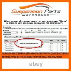 Front Steering Kit Tie Rod End Ball Joint Sway Bar link For Toyota Sequia Tundra