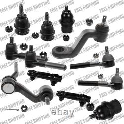 Front Steering Kit Tie Rod Linkages Ball Joint For 4WD Dodge Fits Dakota 91-96