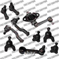 Front Steering Rebuilt Kit Tie Rod Idler Pitman Arm For 92-93 RWD Mazda B2600