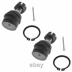 Front Steering & Suspension Kit Ball Joint Control Arms Drag Link Tie Rods New