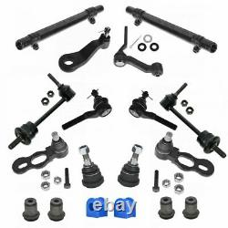 Front Steering Suspension Kit Set for 98-02 Ford Lincoln Mercury RWD