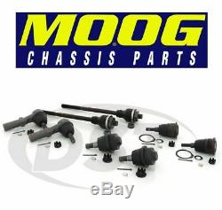 Front Tie Rod Ends Ball Joints Steering Rebuild Package Kit For Chevy GMC Hummer
