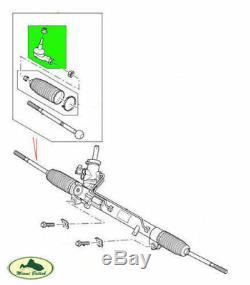 LAND ROVER STEERING TIE ROD END SET x2 LR3 09 LR4 LR010672 OEM
