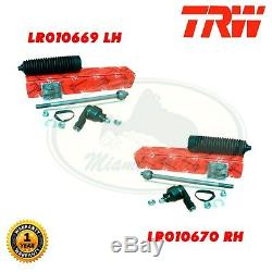 Land Rover Steering Tie Rod End & Spindle Repair Kit Lh Rh Lr010669 Lr010670 Trw