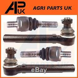 Manitou Telehandler PAIR Track Tie Rod Ends ball & Steering Joints Front or Rear