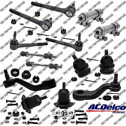 New Front End Steering Kit Tie Rod Ball Joint For 2WD GMC Suburban C1500, C2500
