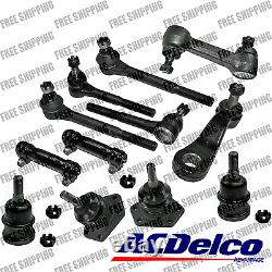 New Steering Kit Idler Pitman Arm Tie Rod Ball Joint For (RWD) Chevrolet GMC