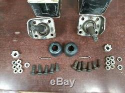 Nos Gm 55-57 Chevy Passenger Car Pair Of Lower Control Arm Ball Joints 3739959